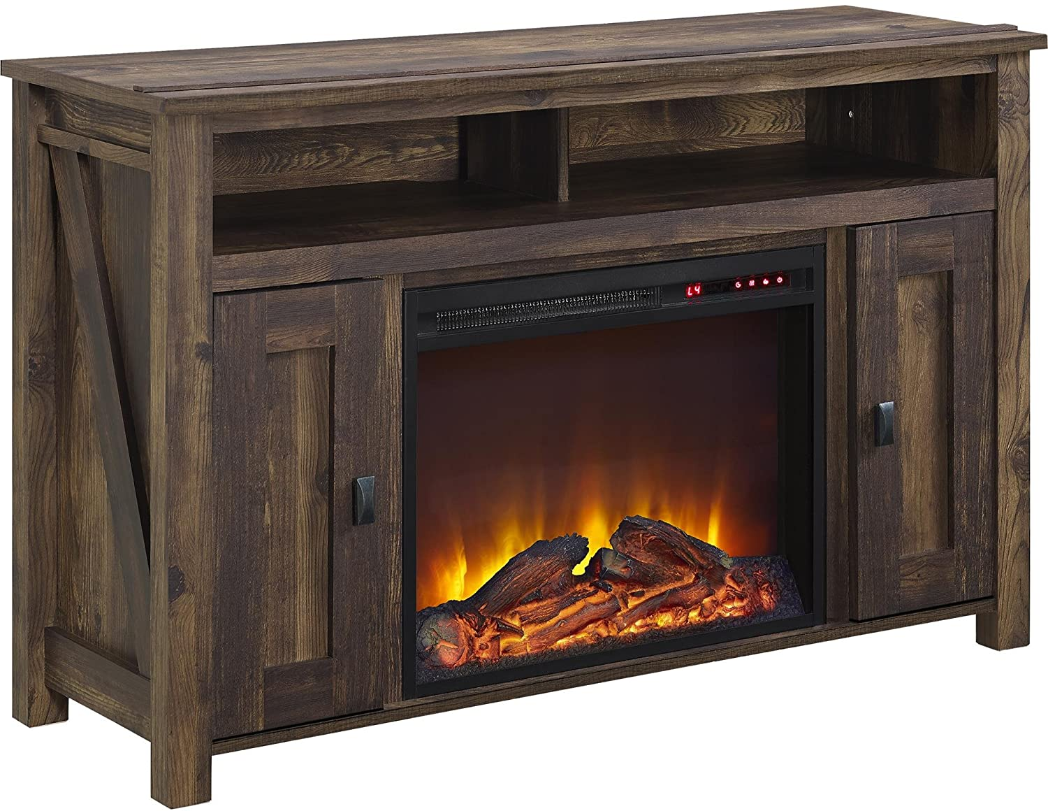 Ameriwood Home Farmington Electric Fireplace & TV Console