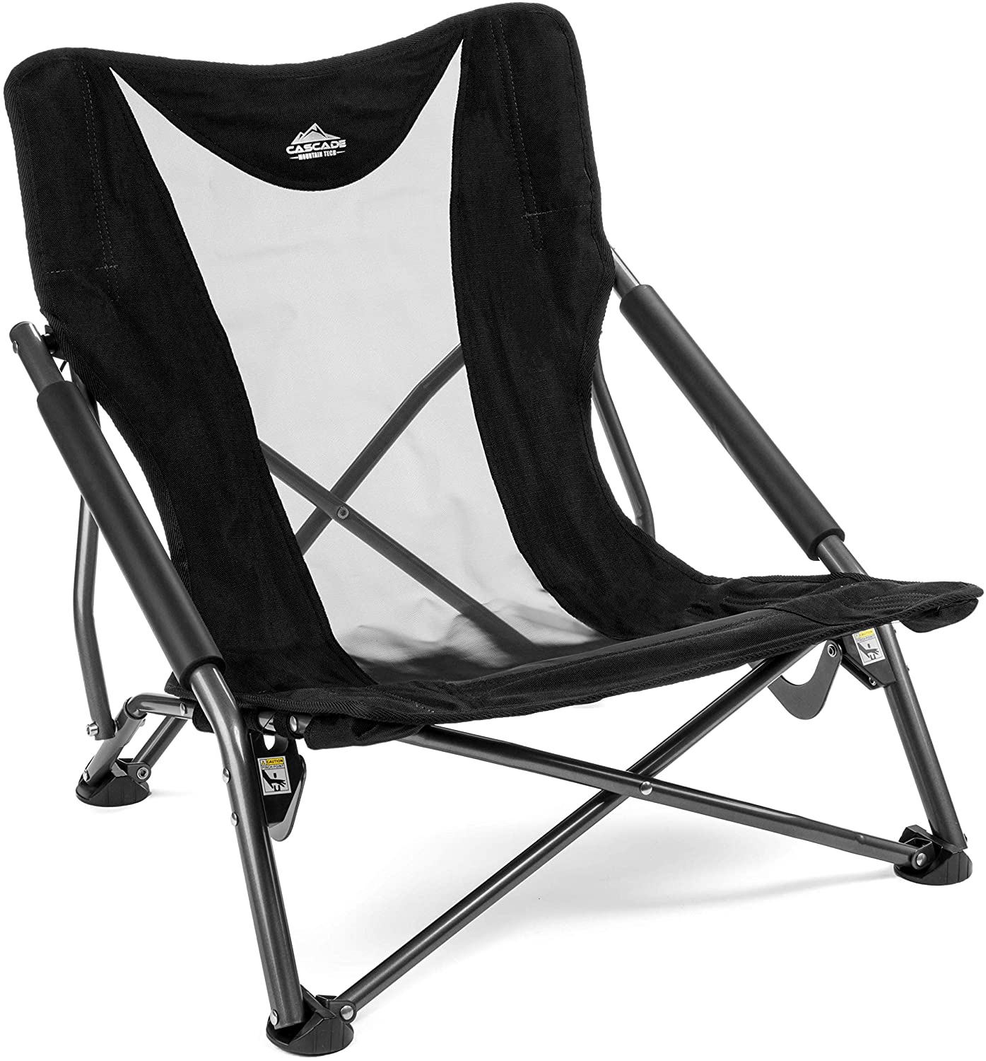 Cascade Mountain Compact Lightweight Folding Beach Chair