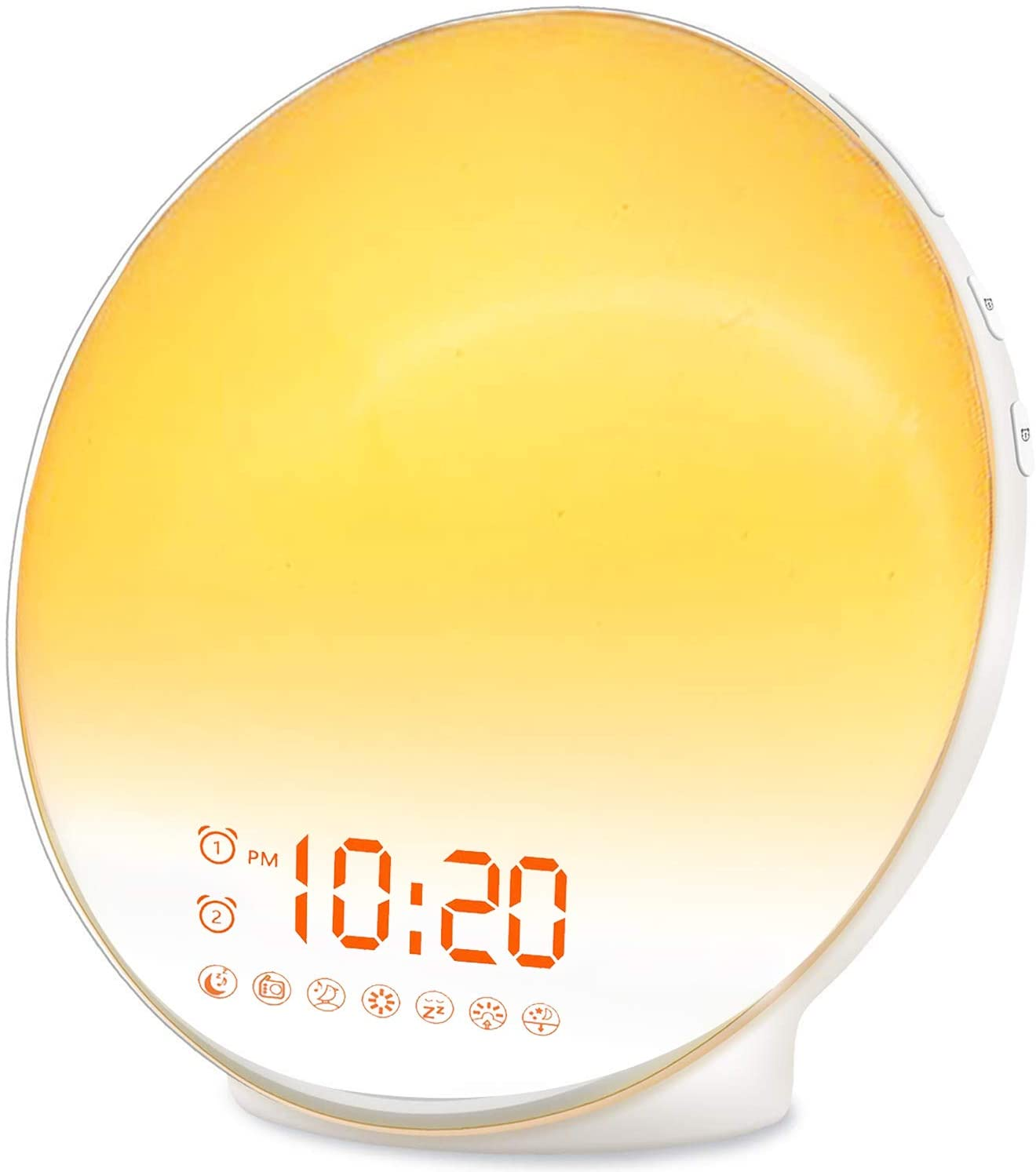 JALL Wake Up Light Sunrise Kid Alarm Clock