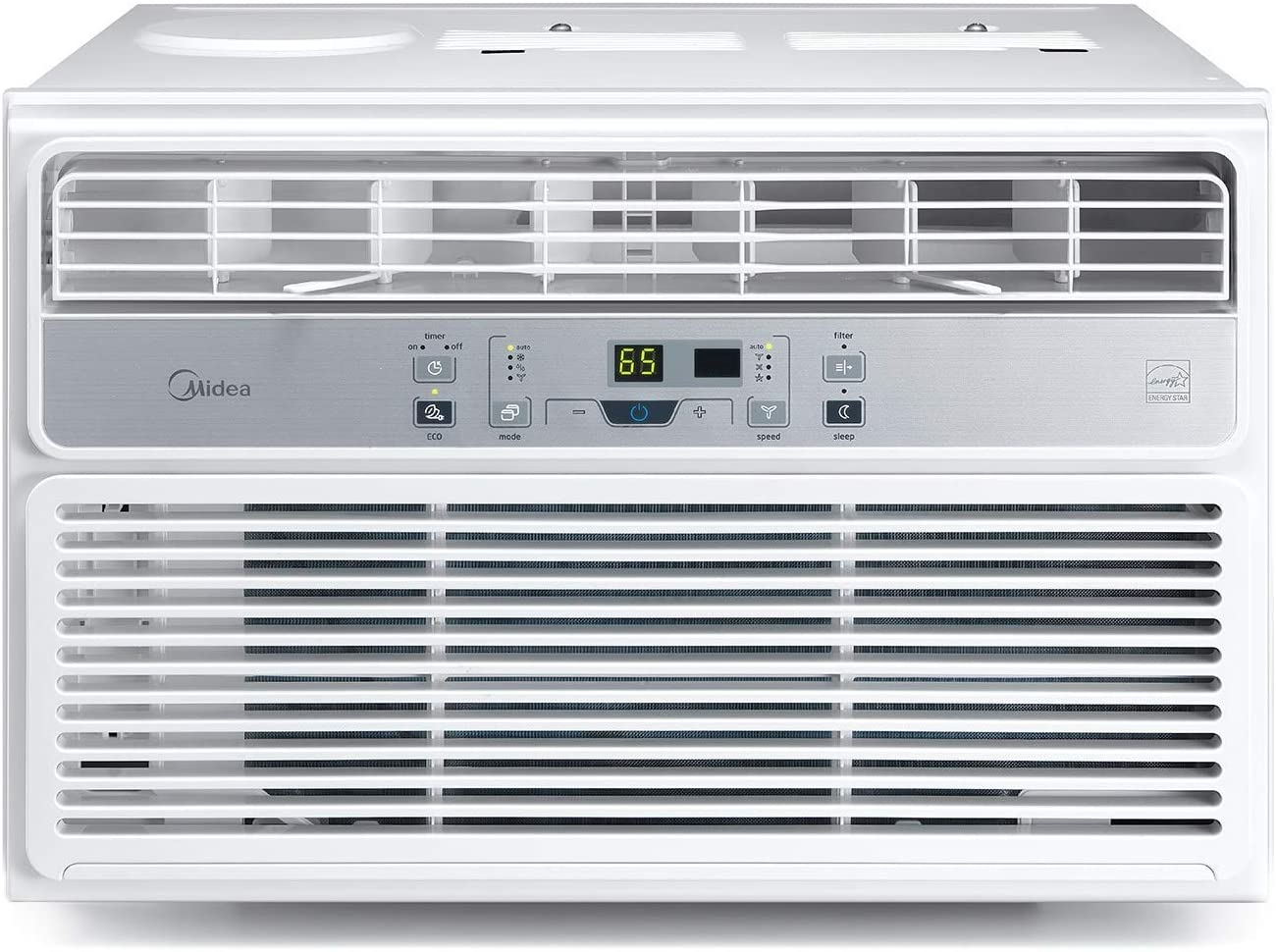 MIDEA MAW08R1BWT EasyCool Window AC Unit