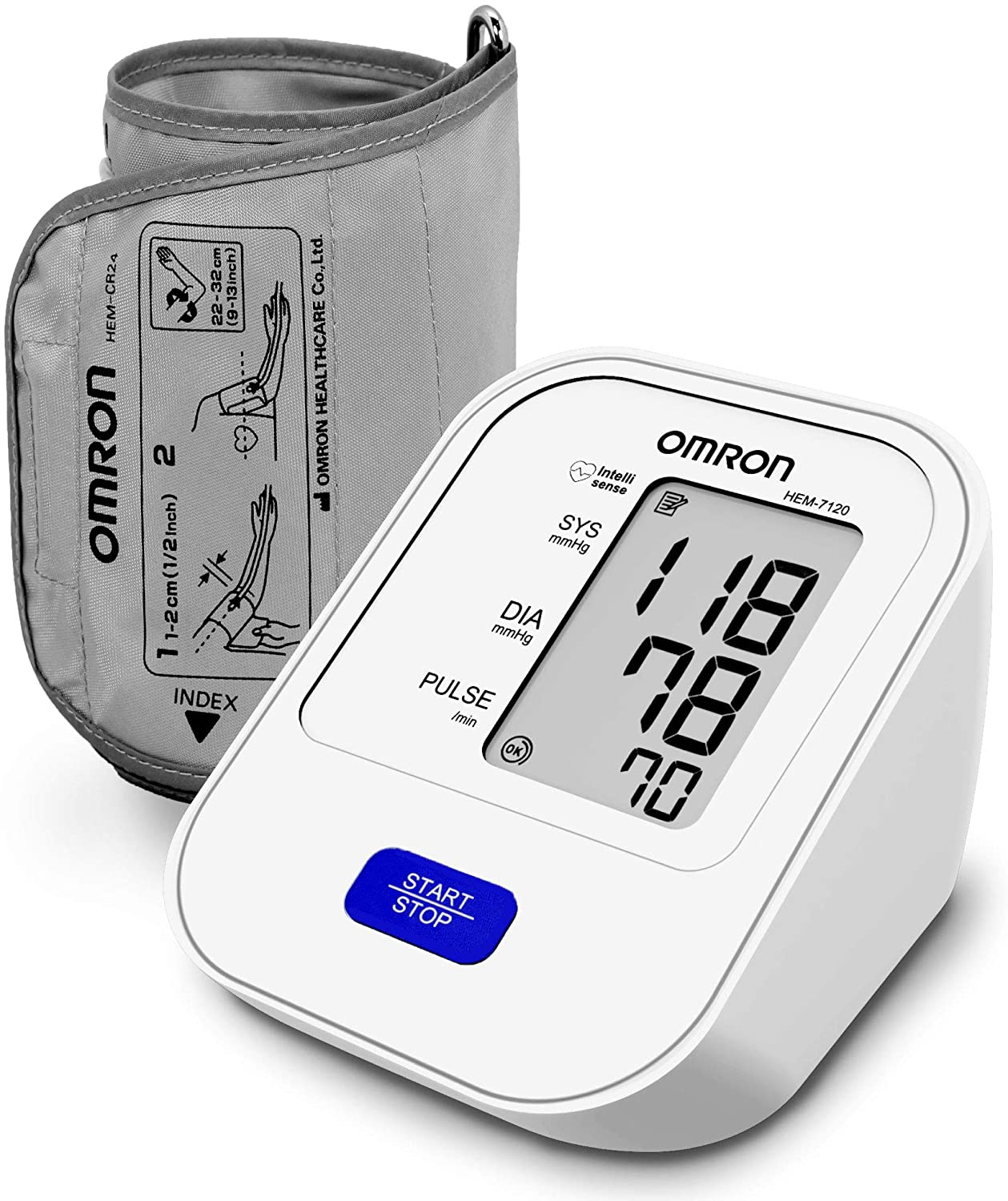 Omron HEM 7120 Upper Arm Automatic Blood Pressure Monitor