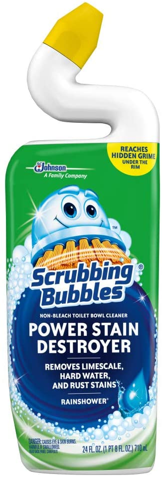 SC Johnson Scrubbing Bubbles Toilet Bowl Cleaner