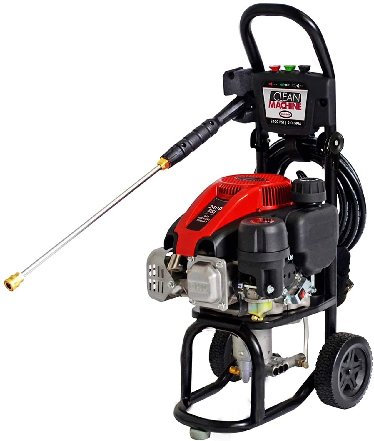 Simpson Cleaning CM60912 2400 PSI Gas Pressure Washer