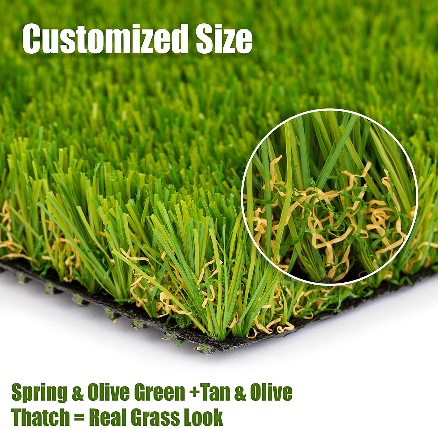 Smartlawn Professional Realistic Artificial Fake Grass Rug