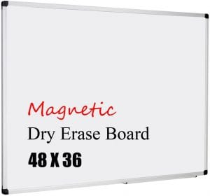 XBoard Dry Erase Magnetic Whiteboard