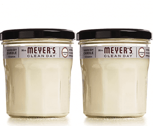 Mrs. Meyer's Clean Day Lavender Aromatherapy Candle, 2-Pack