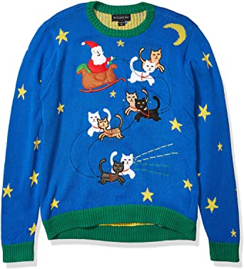 Blizzard Bay Light-Up Christmas Sweater For Men