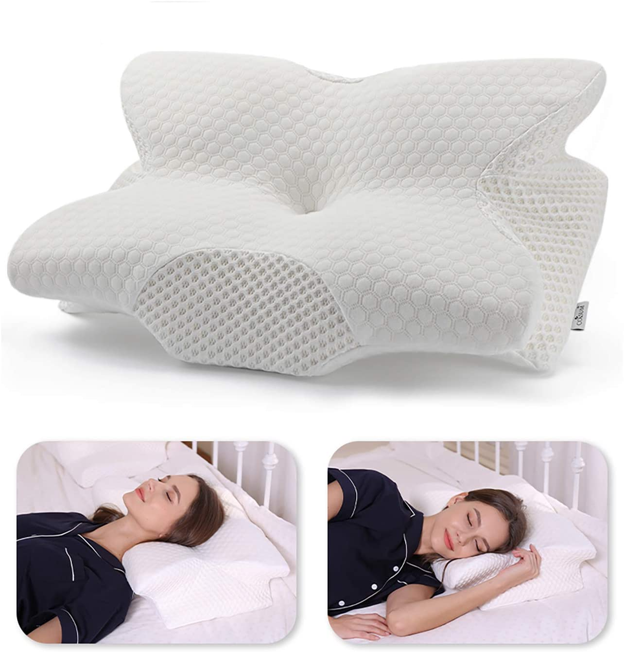 Coisum Cervical Memory Foam Neck Pillow