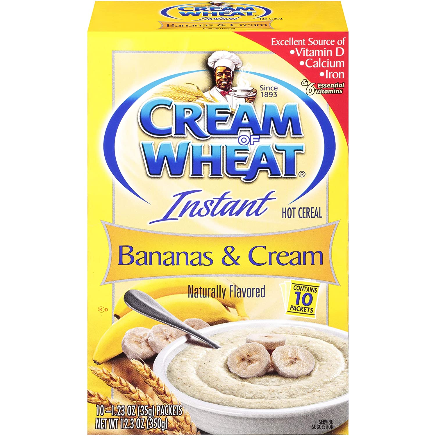 Cream Of Wheat Bananas & Cream Instant Hot Cereal