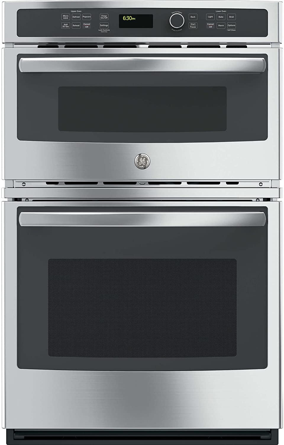 GE JK3800SHSS Stainless Steel Combination Wall Oven