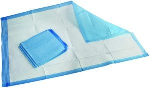 Medpride Disposable Incontinence Pads, 25-Count