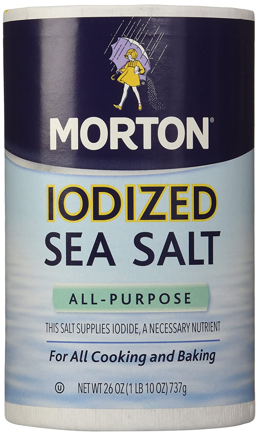 Morton Salt Iodized Sea Salt For Cooking