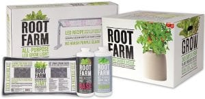 Root Farm Indoor Hydroponic Gardening System, Starter Kit