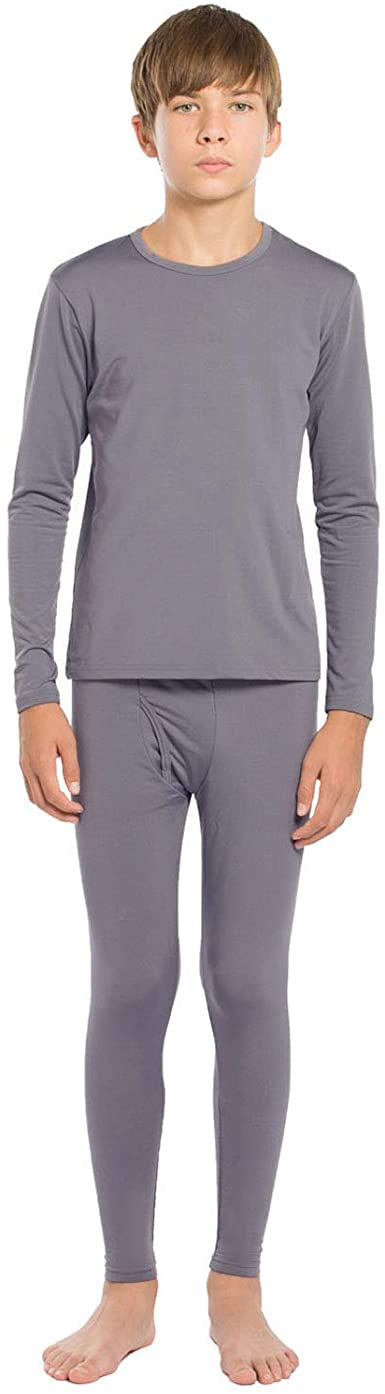 ViCherub Boy's Thermal Fleece Lined Long Underwear