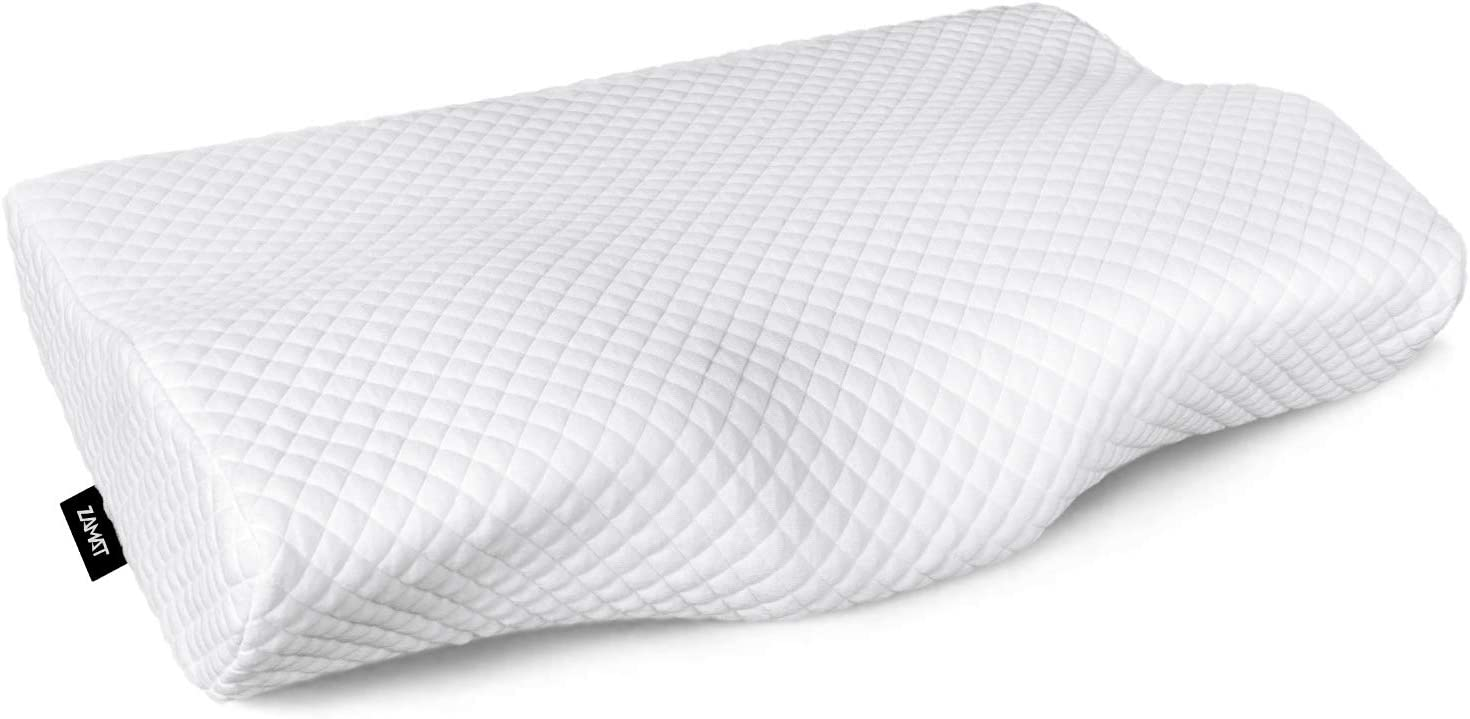 ZAMAT Contour Memory Foam Neck Pillow