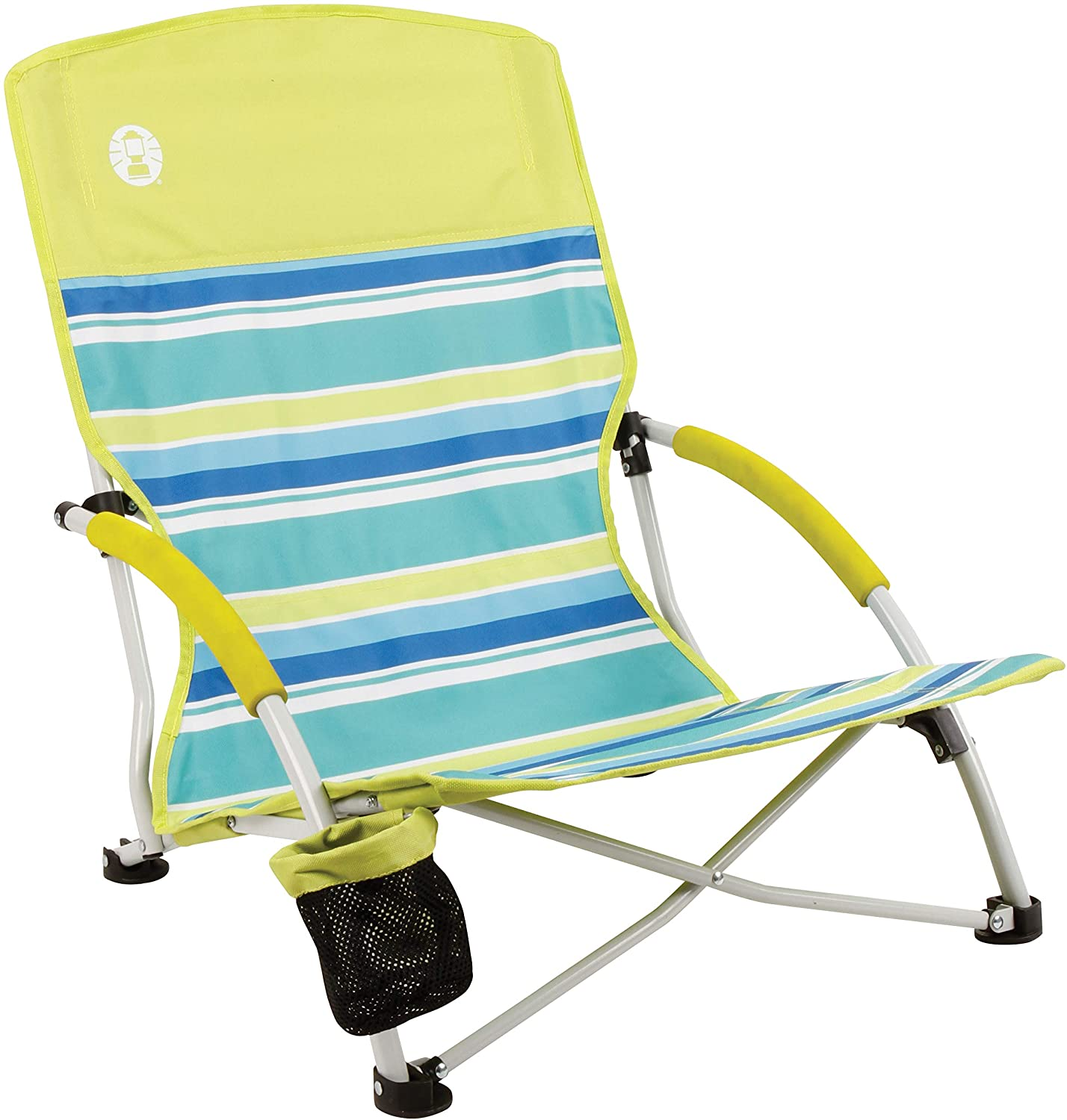 Coleman Utopia Breeze Low Profile Foldable Beach Chair