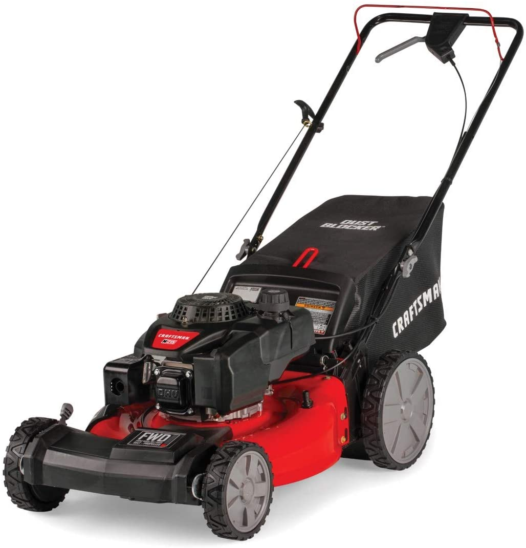 Craftsman M215 High-Wheeled Self-Propelled Lawn Mower, 21-Inch