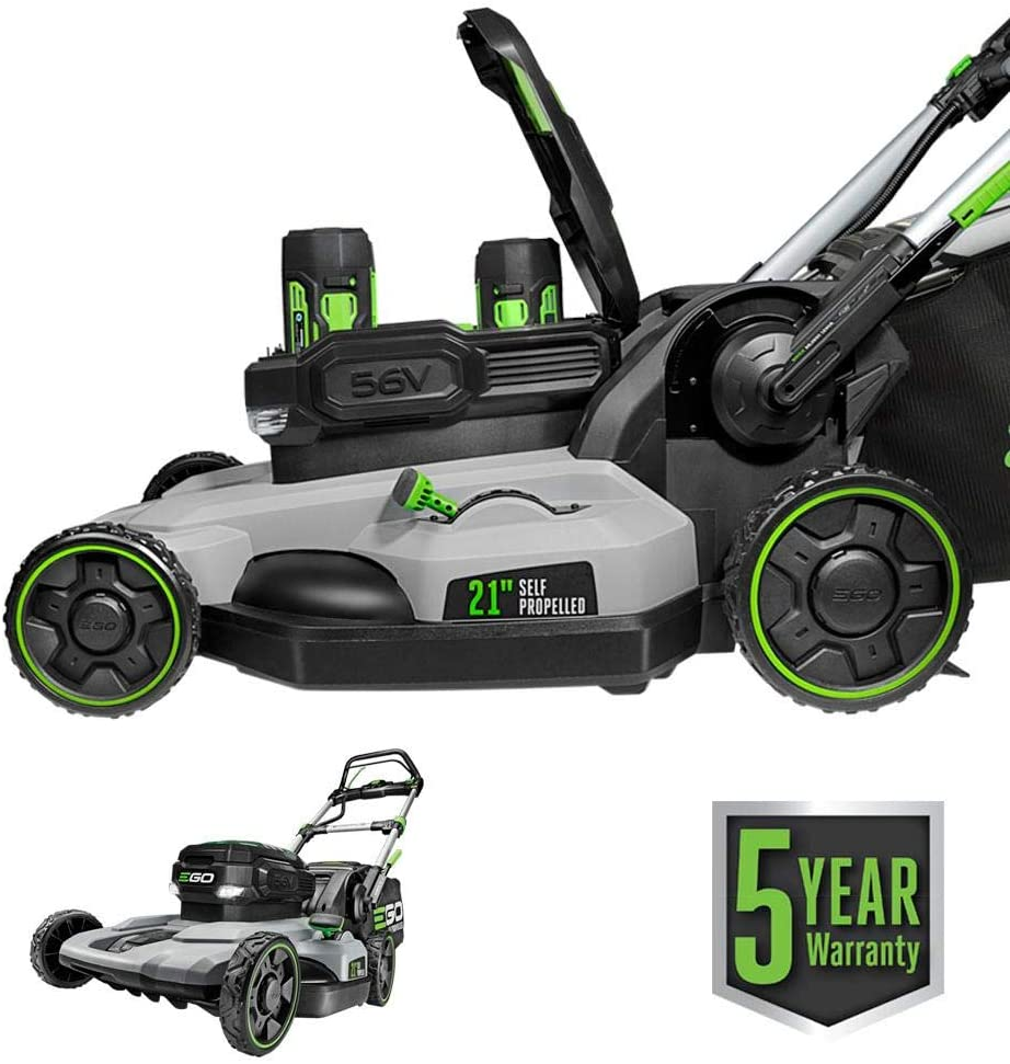 EGO Power+ LM2142SP Electric Cordless Self-Propelled Lawn Mower, 21-Inch