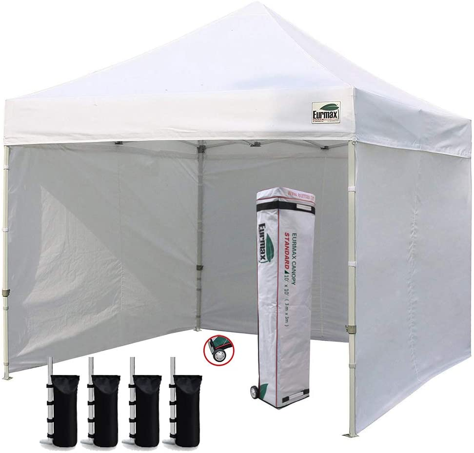 Eurmax 4 Removable Walls Pop Up Shade