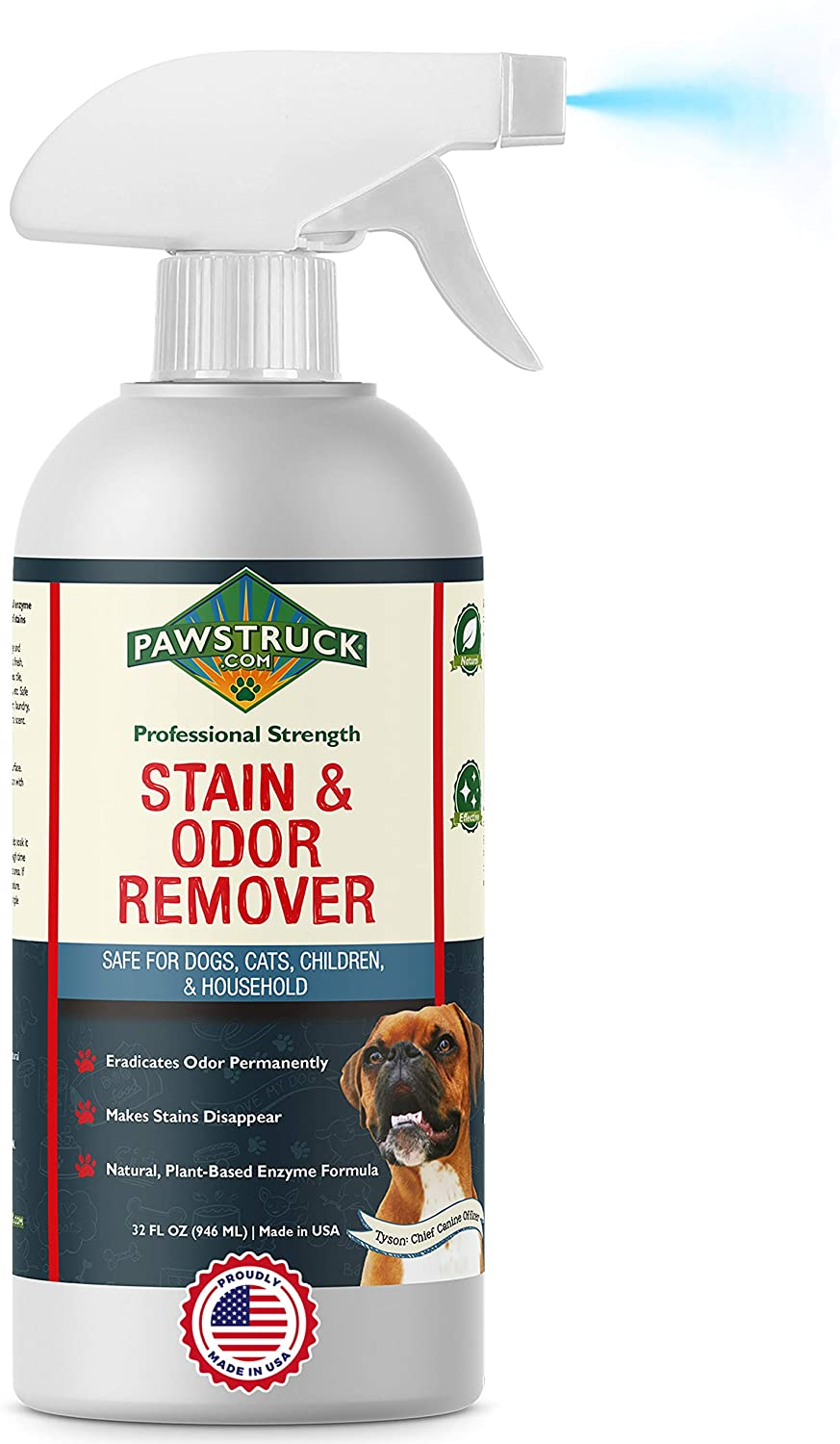 Pawstruck Stain & Odor Natural Carpet Cleaner