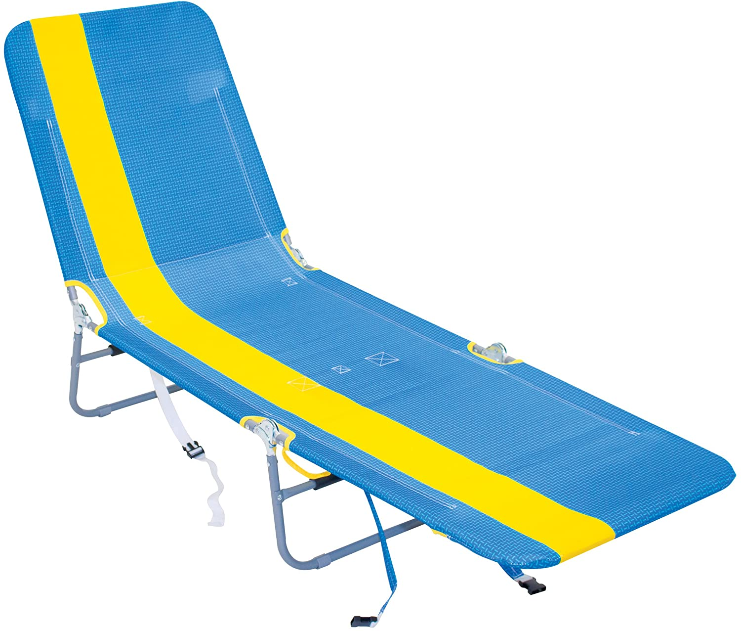 RIO Beach Polyester Foldable Beach Lounge Chair