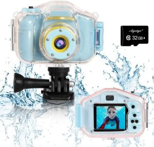 Agoigo Waterproof HD Camera For Kids