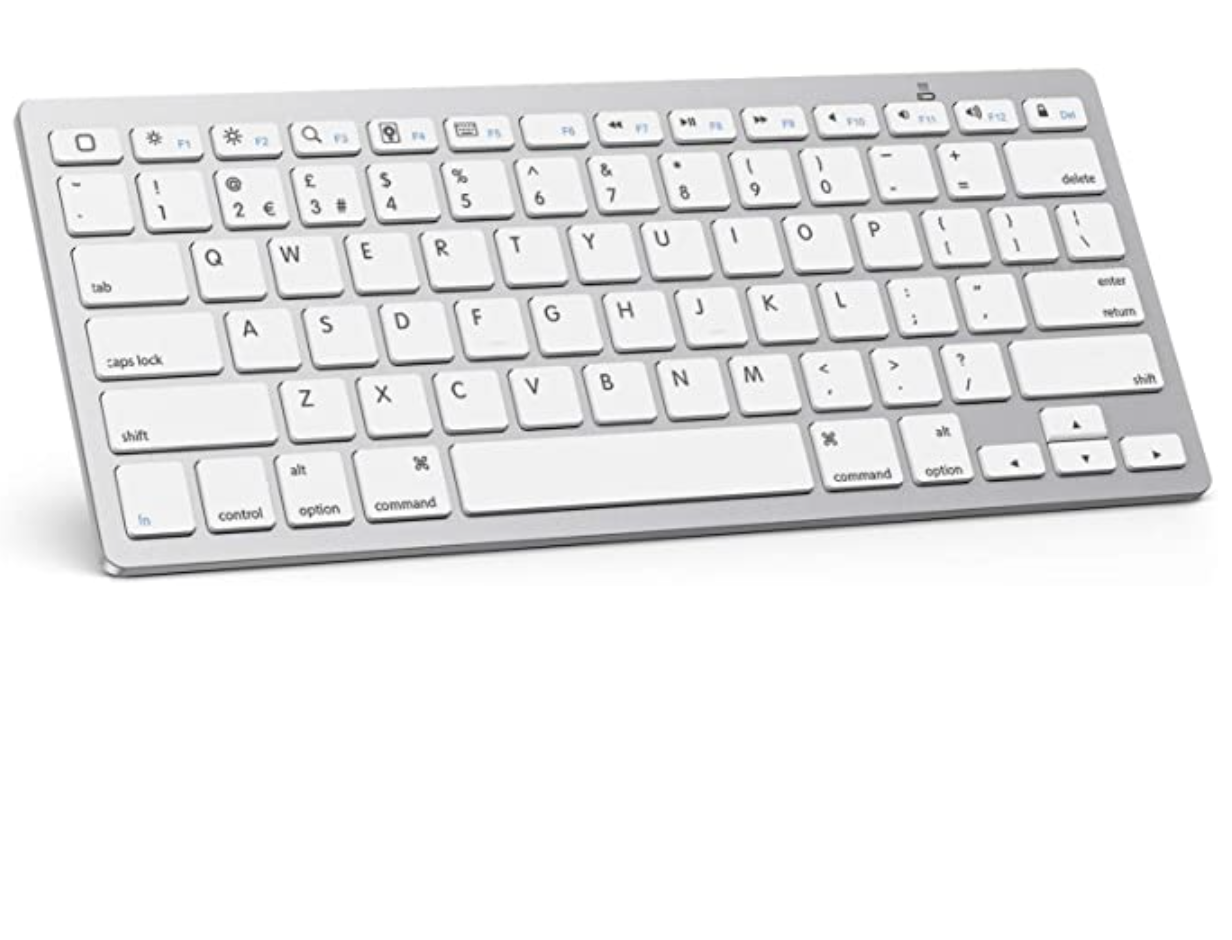 OMOTON Ultra-Slim Bluetooth Wireless Keyboard