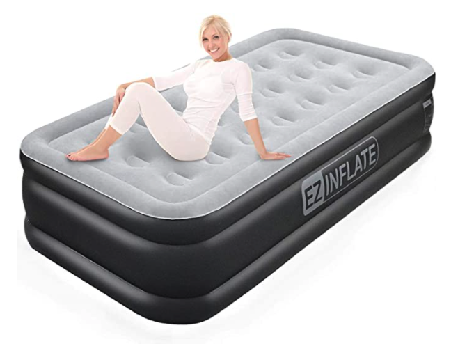 EZ INFLATE Double High Air Mattress