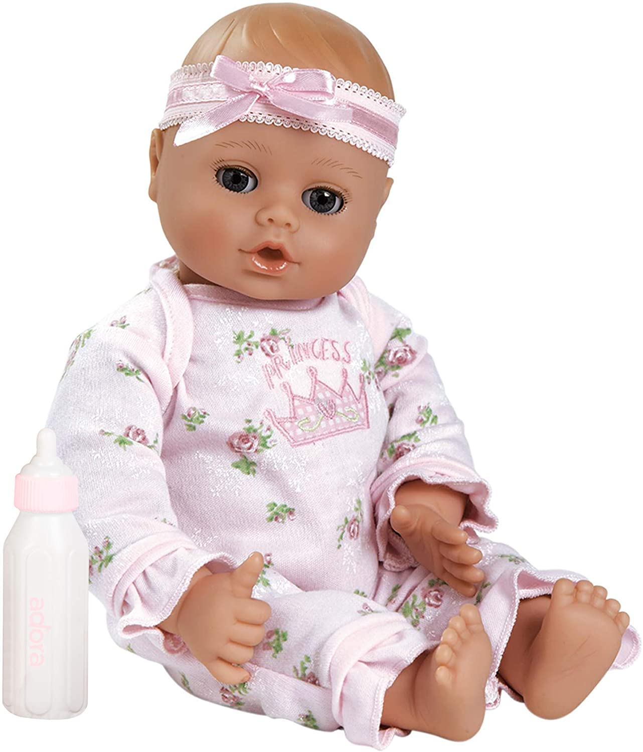 Adora Open & Close Eyes Baby Doll, 13-Inch