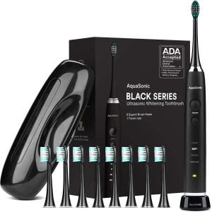 AquaSonic ADA Accepted Rechargeable Electric Toothbrush