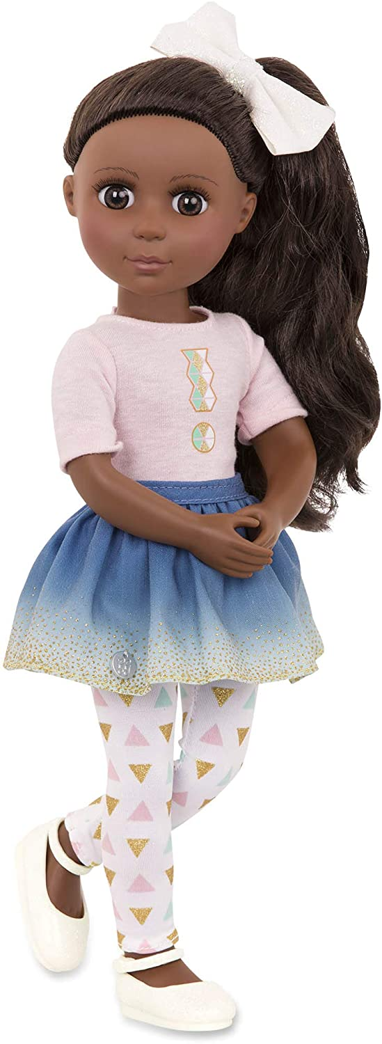 Battat 14-Inch Keltie Glitter Girls Doll