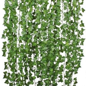 DearHouse Artificial Ivy Leaf Vine Plants, 12 Strands