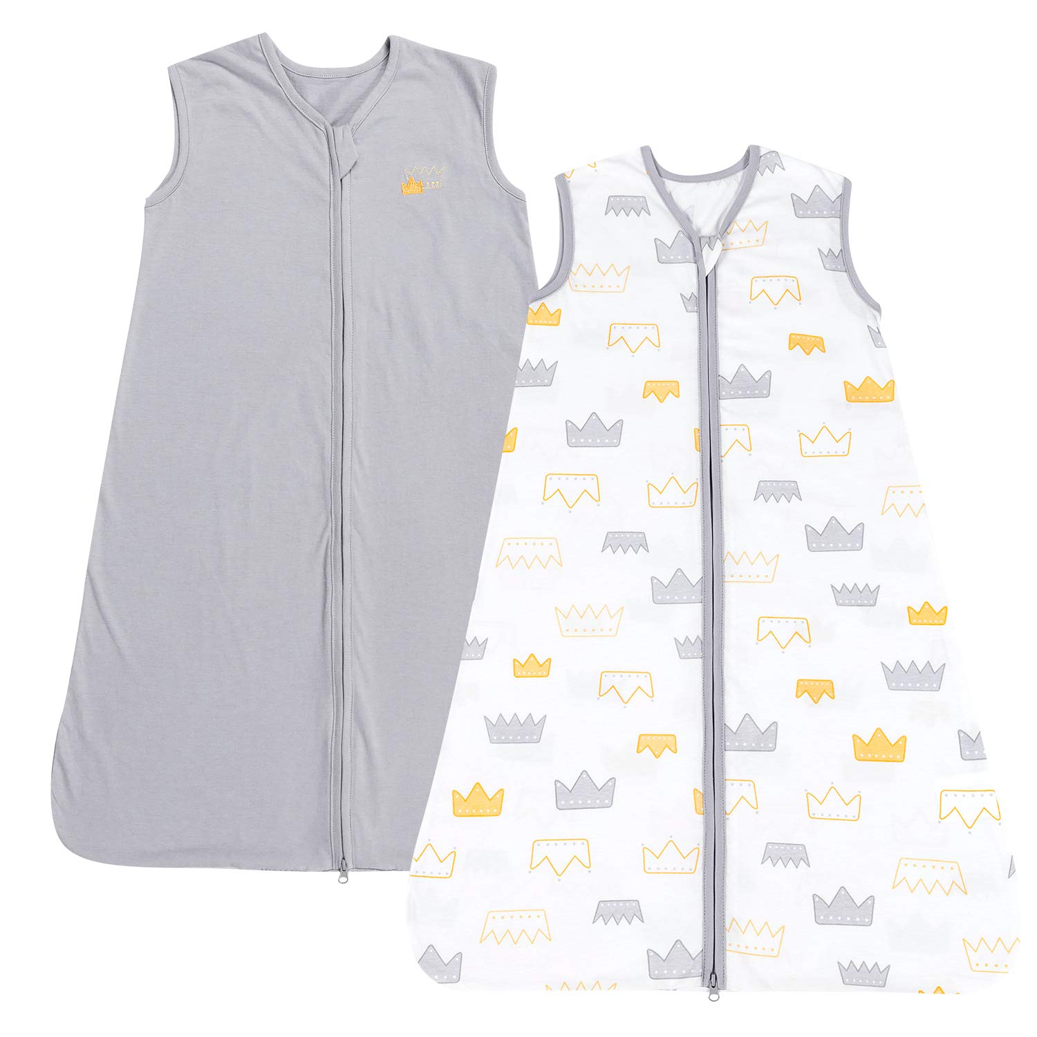 TILLYOU Cotton 2-Way Zipper Sleep Sack