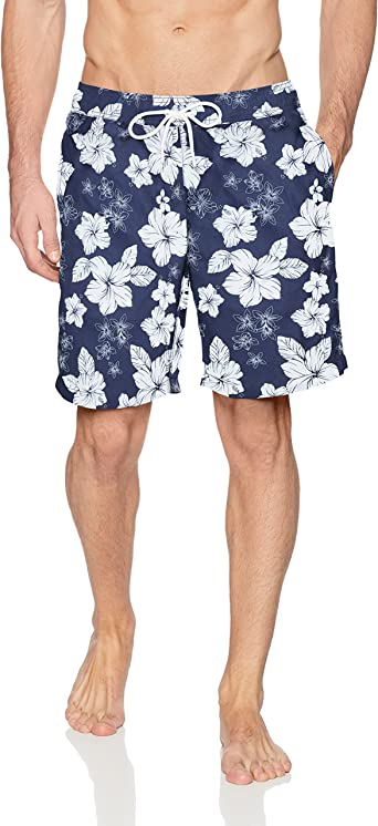 Amazon Essentials Quick-Dry Men's Swim Trunks, 9-Inch