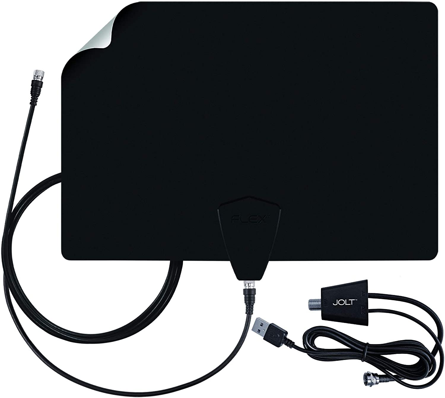 Antennas Direct ClearStream FLEX Amplified TV Antenna, 50-Mile Range