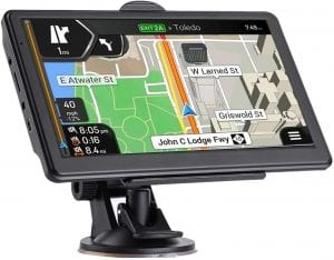 CarGad Touchscreen Car GPS Navigation System, 7-Inch