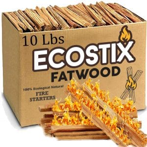 EasyGoProducts Eco-Stix Fatwood Fire Starter Sticks