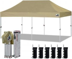Eurmax UV Protection Canopy Pop-Up Tent