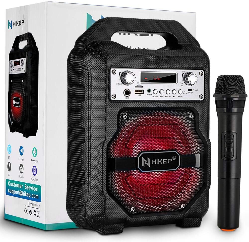HIKEP Portable Bluetooth Karaoke Machine