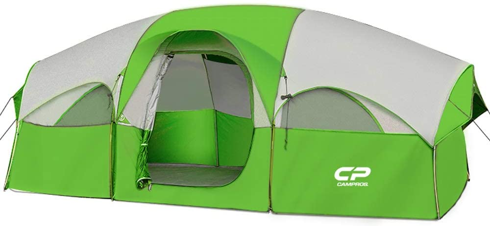 HIKERGARDEN CAMPROS Double Layer 8-Person Family Tent