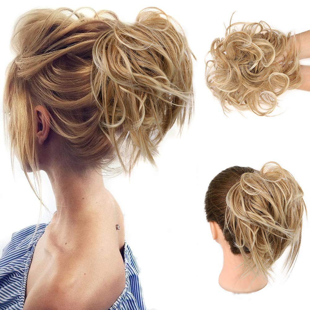 HMD Tousled Fake Hair Bun