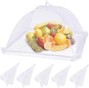 Lauon Mesh Food Cover Tent, 6-Pack