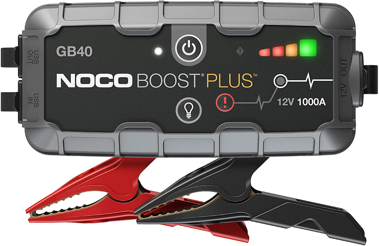 NOCO Boost Plus GB40 1000 Amp 12-Volt Car Battery Jump Starter Box