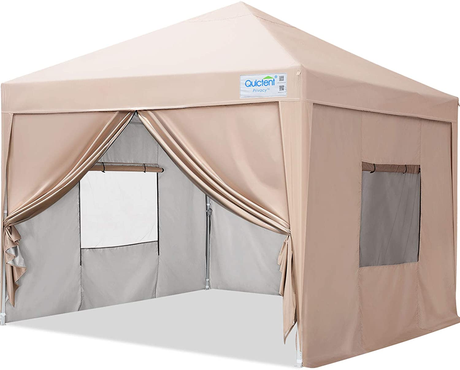 Quictent Privacy Pop-Up Canopy Tent With Sidewalls