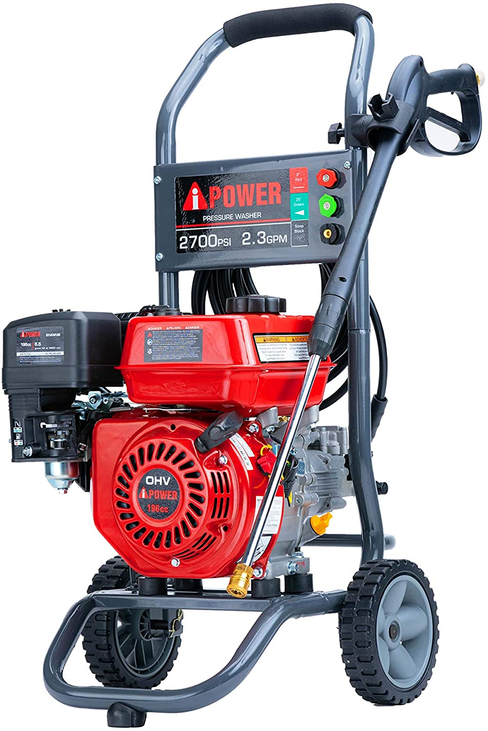A-iPower APW2700C 2700 PSI Gas Pressure Washer