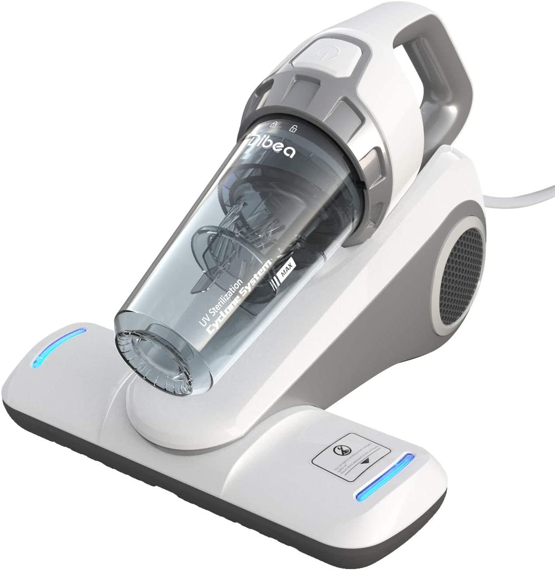 Dibea Handheld Bed Vacuum Cleaner With Roller Brush