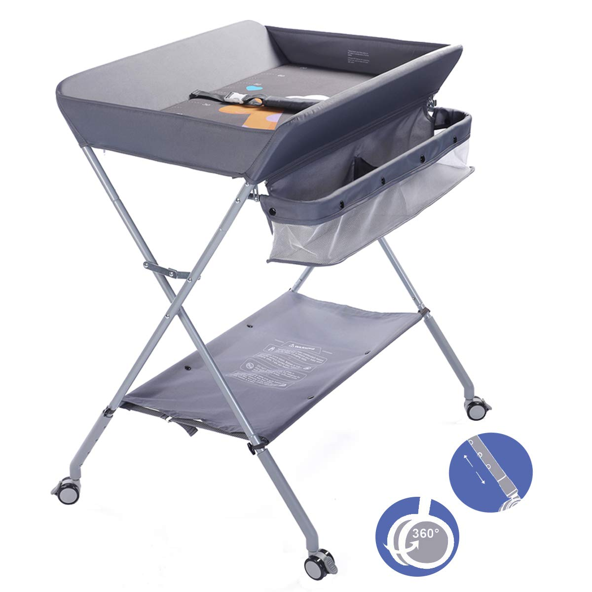 EGREE Folding Portable Changing Station