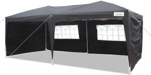 Goutime Waterproof Canopy Tent With Sidewalls