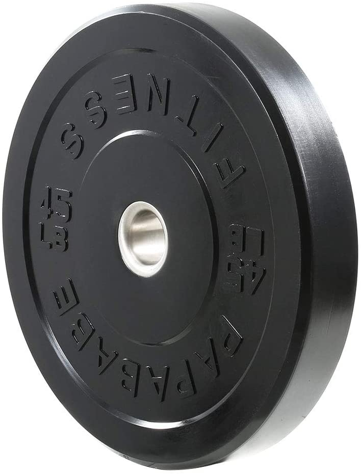 papababe 2-Inch Bumper Weight Plate Set