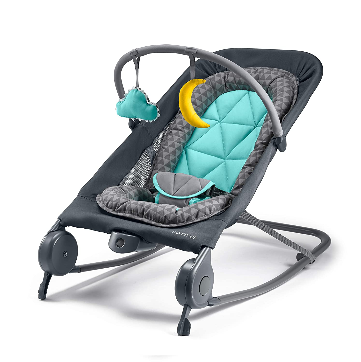 Summer Infant Folding 2-In-1 Baby Rocker & Bouncer